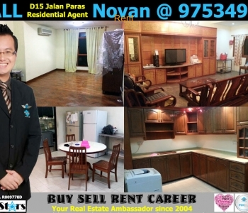 3 Room Landed Property for Rent at 11 Jalan Paras Singapore 418864