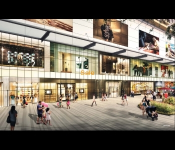 Freehold shopping mall space for investment 70% guarantee return