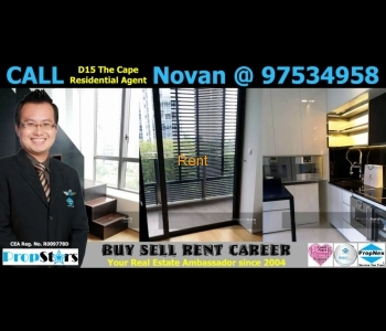District 15 The Cape Condo SOHO 2 Bedder Rental