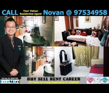 HDB Rental - 3NG Blk 247 Yishun Ring Road 3-Room New Generation