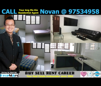 HDB Rental - 4NG Blk 612 Ang Mo Kio Avenue 4 New Generation