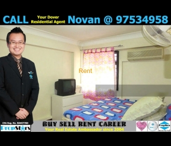 HDB Rental - 3I+Utility Blk 3 Dover Road 3-Room Improved