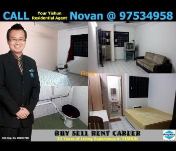 HDB Rental - 3NG Blk 210 Yishun Street 21 3-Room New Generation