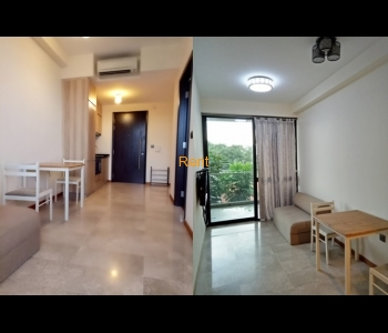 1 Bedroom with Balcony Unit for Rent (Beauty World MRT)